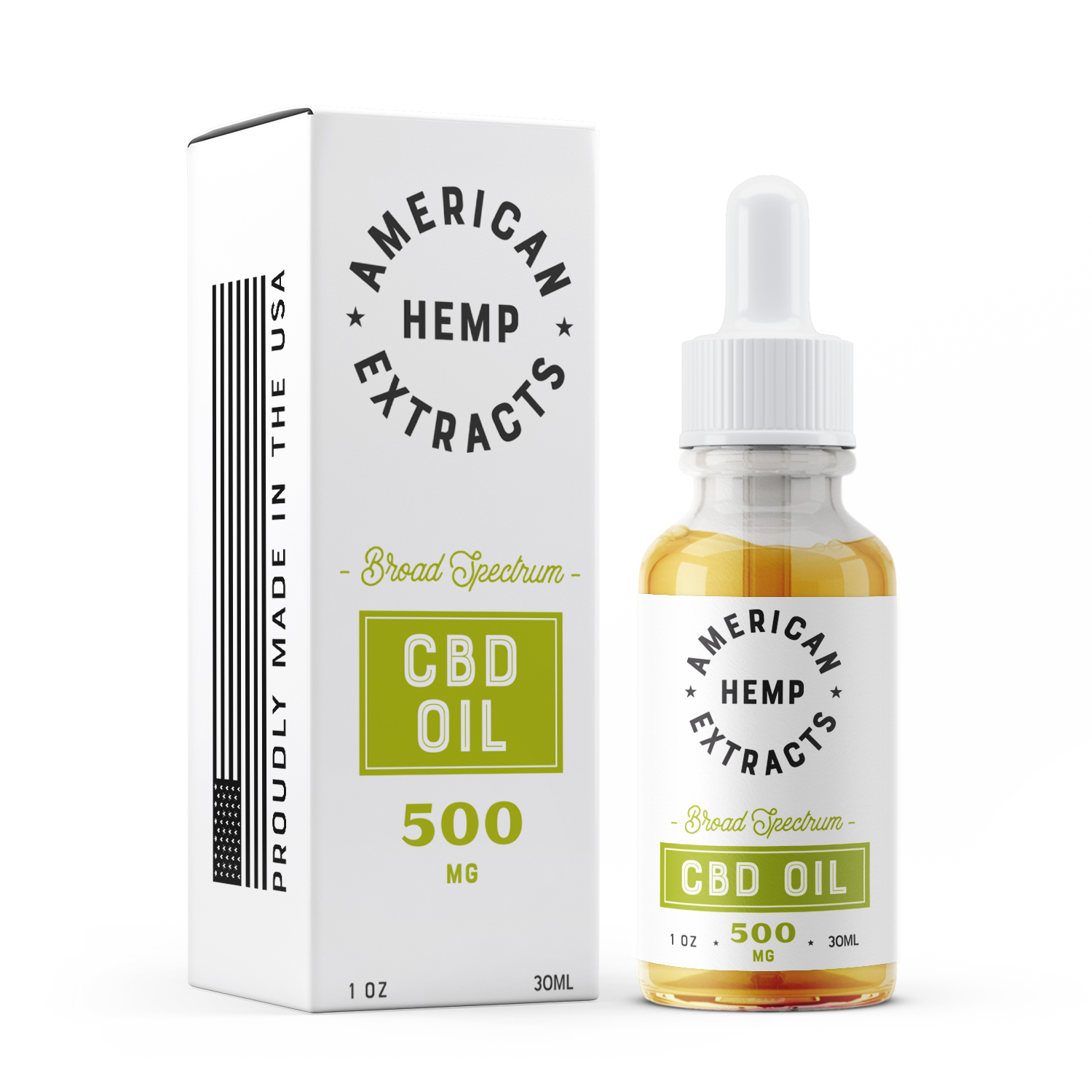 Broad Spectrum CBD Oil (500mg)
