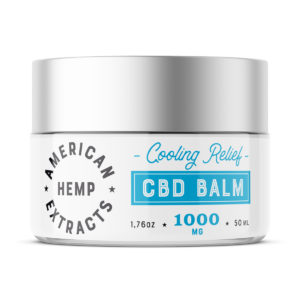THC Free CBD Balm (1000mg) – Subscription
